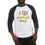 I Pretzel Pretzel Day Baseball Jersey