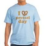 I Pretzel Pretzel Day Light T-Shirt
