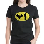 Bat Man Women's Dark T-Shirt