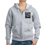 What Makes a Man Hate Another Man? Women's Zip Hoodie