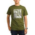 What Makes a Man Hate Another Man? Organic Men's T-Shirt (dark)