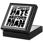 What Makes a Man Hate Another Man? Keepsake Box