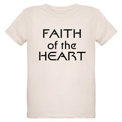 Faith of the Heart Organic Kids T-Shirt