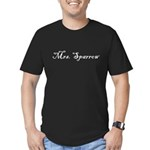 Mrs. Sparrow Men's Fitted T-Shirt (dark)