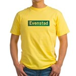 Evenstad Norway Yellow T-Shirt