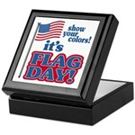 Flag Day Keepsake Box