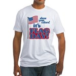 Flag Day Fitted T-Shirt