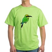 Rainbow Bee-eater Green T-Shirt
