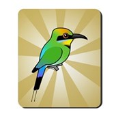 Rainbow Bee-eater Mousepad