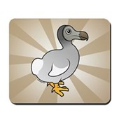 Birdorable Dodo Mousepad