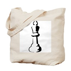 Chess Piece Tote Bag
