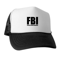 FBI: Fanatic Boxing Individual Trucker Hat