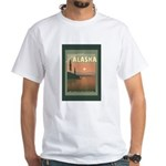 Visit Beautiful Alaska White T-Shirt