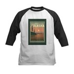 Visit Beautiful Alaska Kids Baseball Jersey