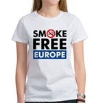 Smoke Free Europe Women's T-Shirt