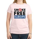 Smoke Free Europe Women's Light T-Shirt
