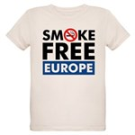 Smoke Free Europe Organic Kids T-Shirt