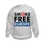 Smoke Free Europe Kids Sweatshirt