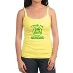 25% Irish - Thank You Grandma Jr. Spaghetti Tank