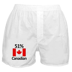 51% Canadian Boxer Shorts