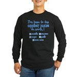 Happiest Places on Earth Long Sleeve Dark T-Shirt