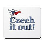 Czech It Out Mousepad