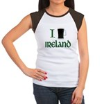 I Love Ireland (beer) Women's Cap Sleeve T-Shirt
