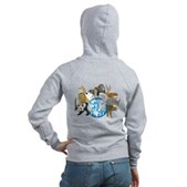They Were Here First Women's Zip Hoodie
