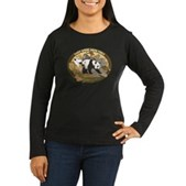 They Were Here First Women's Long Sleeve Dark T-Sh