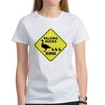 Talking Ducks Crossing Women's T-Shirt