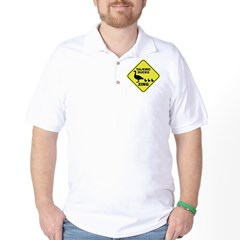 Talking Ducks Crossing Golf Shirt