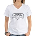 Broke in 600 Years Women's V-Neck T-Shirt