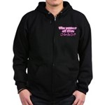 The Power of Five Zip Hoodie (dark)