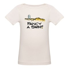 Fancy a Swim? Organic Baby T-Shirt
