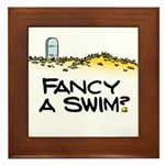 Fancy a Swim? Framed Tile