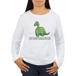 Stuffosaurus Logo Women's Long Sleeve T-Shirt
