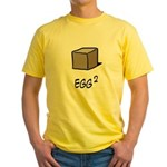 Square Egg Yellow T-Shirt