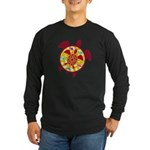 Turtle Within Turtle Long Sleeve Dark T-Shirt