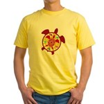 Turtle Within Turtle Yellow T-Shirt