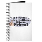 You might be going to hell, but that shouldn't stop you from being Stephen Colbert's friend. If you're in favor of healthcare reform and a member of the Colbert Nation, you need this!
