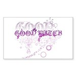 Good Witch Rectangle Sticker 10 pk)