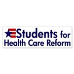 Students for Health Care Reform bumper sticker