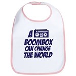 A Boombox Can Change the World Bib