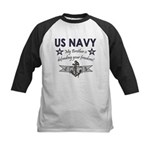 US Navy Brother Defending Kids Baseball Jersey