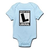 Content Rated Liberal Infant Bodysuit