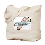 Dylan Jasmin CDH Awareness Ribbon Tote Bag