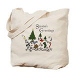 seasons greetings bag