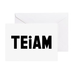 TEiAM Greeting Card