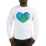 Haiti Heart Long Sleeve T-Shirt
