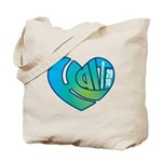 Haiti Heart Tote Bag
